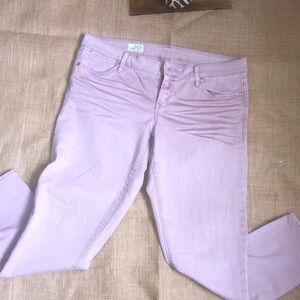 Pink Gap Skinny Jeans